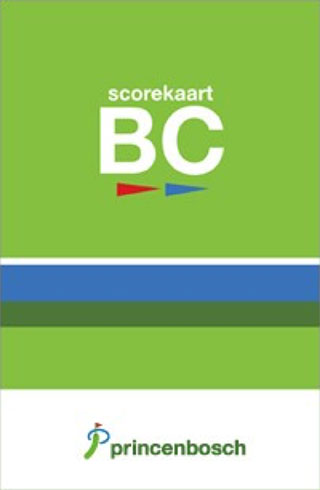 Scorekaart-bc Golfclub Princenbosch