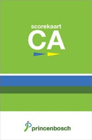 Scorekaart-ca Golfclub Princenbosch